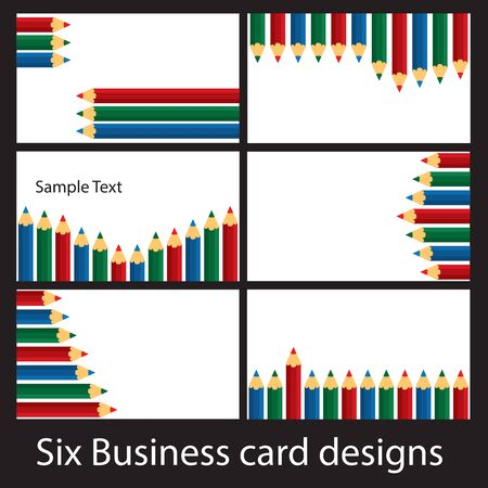 humble: Six business card designs based on the humble pencil