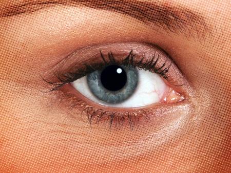 human skin texture: Closeup of woman