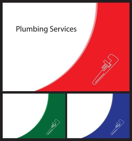 handy man: Biglietto da visita modello per idraulici e tuttofare forma Card 3 5 da 2 5