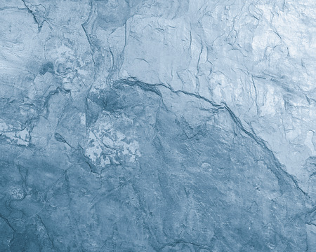 toned: Closeup view of a blue toned section of stone surface Stock Photo