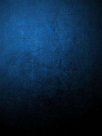 mucky: Section of plaster wall colored blue. Ideal for backgrounds