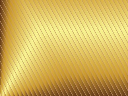 linen: An illustration of golden diagonal stripe pattern