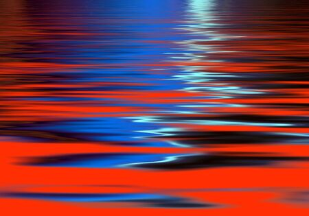 blue background texture: Vivid abstract wave pattern in red and blue