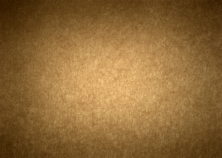 vignetted: Section of brown textured wrapping paper with dark vignetted edges
