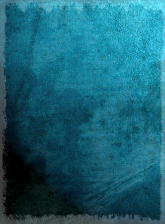 moody: Moody grunge effect added to blue textured surface