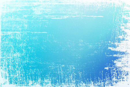 edges: Textured blue surface with white grunge edges