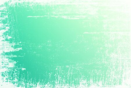 edges: Textured green surface with white grunge edges Stock Photo