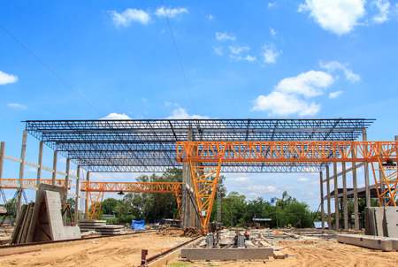 Construction of the plant  photo