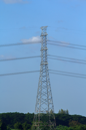 pylon: Electricity pylon