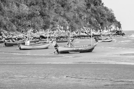 smack: Small fishing boats.