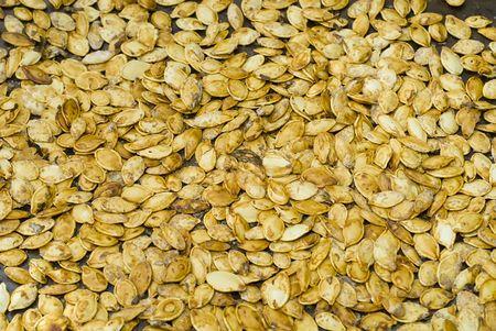 roasted pumpkin seeds Imagens
