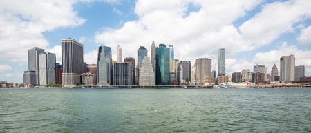 Skyline of Lower Manhattan , New York City Stock Photo