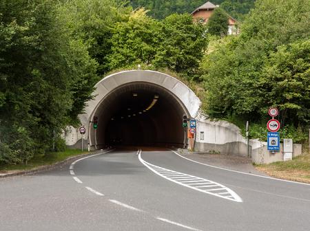 Tunnel in Austria