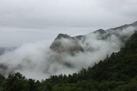 Mt Seorak sea of clouds photo