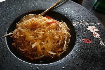 Chinese soy noodle Reklamní fotografie