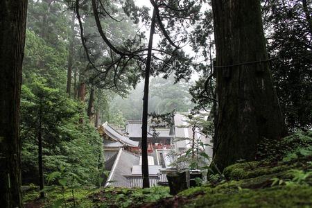 Nature of Nikko in Japan. Stock Photo