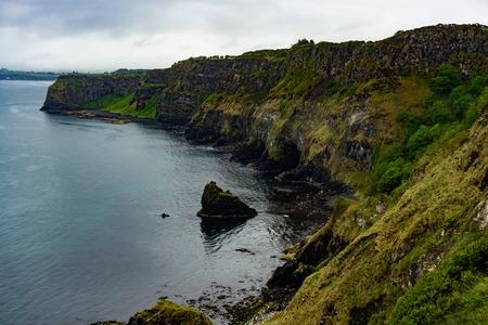 ocean cliffs in northern ireland