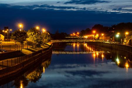 City Kilkenny on the River Nore. Ireland Reklamní fotografie