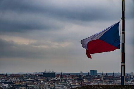 Czech Flag, Czech Republic.