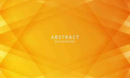 Abstract papercut background vector. Modern abstract gradient orange background concept.