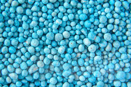 Fertilizer pellets ,Close up Stock Photo