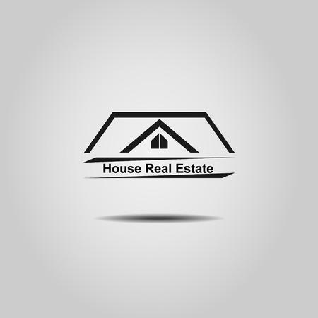 estates: Casa Real Estate logo dise�o Vectores