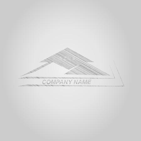 real estate sign: House  Real Estate  design , concept sketch