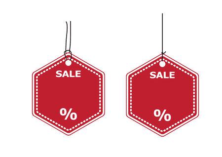 Price tags label design V.2 Vector