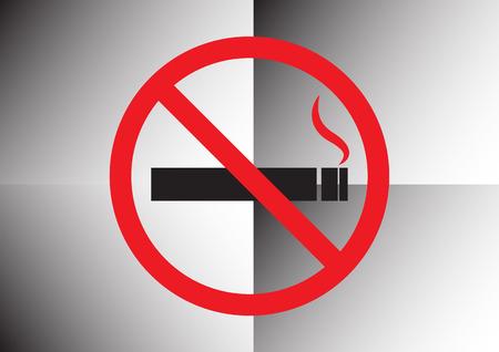 abstain: No smoking sign design  set 2