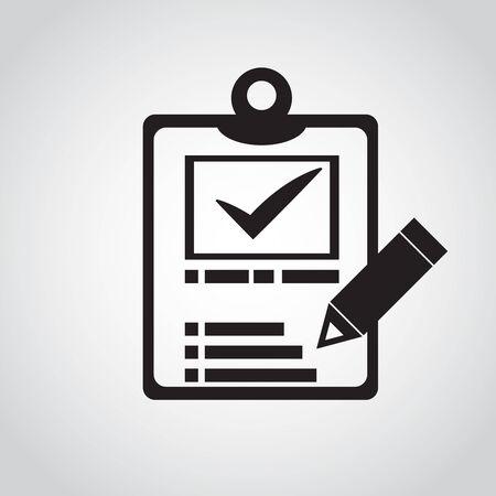 Notes icon design  vector Vector