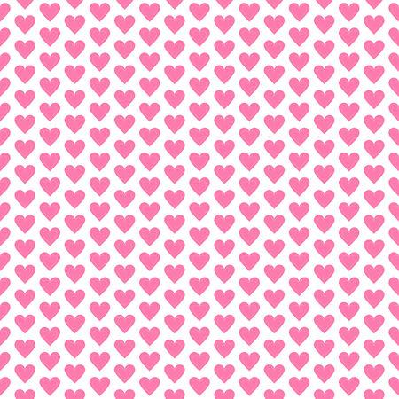 i love you symbol: Heart seamless pattern polka dot