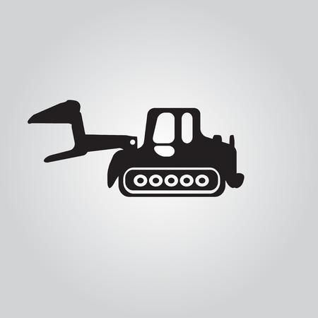 agrario: icono de cami�n Vectores