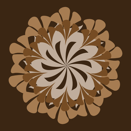 marriage bed: Abstract Vector Flower bouquet; card background Illustration