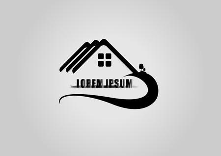ikony: Dom logo lub ikony