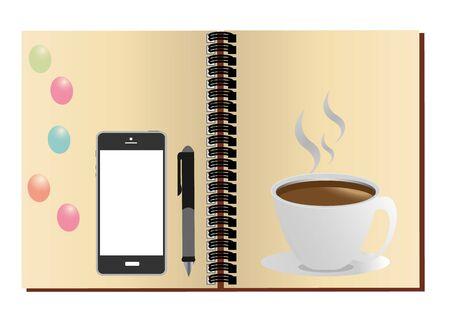 tasse caf�: portable stylo tasse de caf�