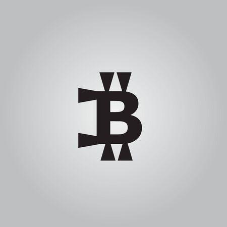 p2p: Bitcoin  icon logo