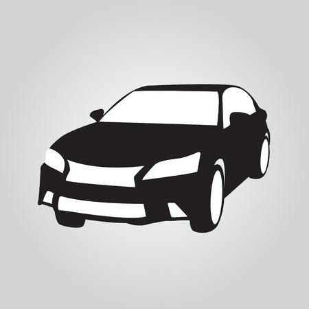 Car  icon logo symbol - vector illustration Vector