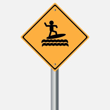 traffic pole: Traffic sign . Sea Surfboard , Windsurfing