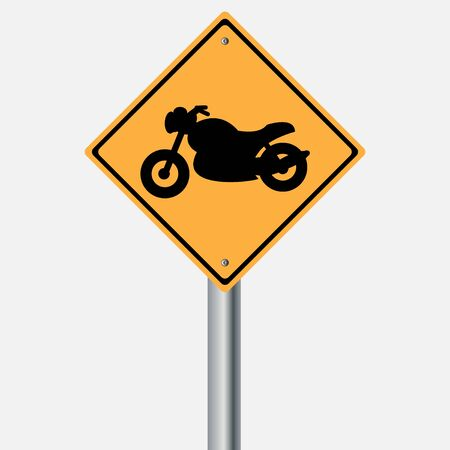 traffic pole: Traffic sign . motor vehicles sign Illustration
