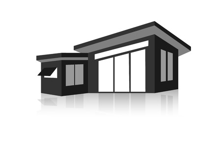 building lot: House Real Estate logo design