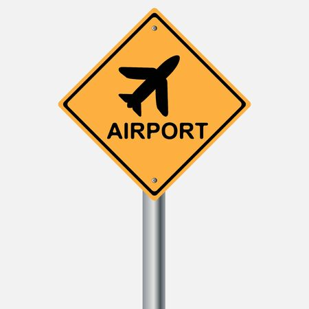 traffic pole: Traffic sign . airport . traffic pole