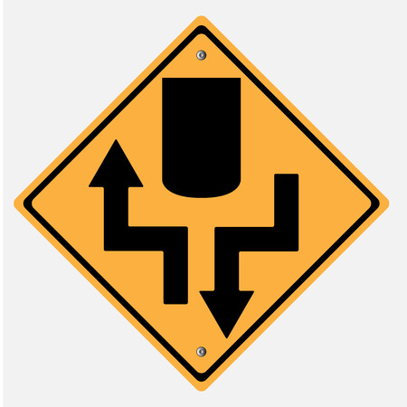 motorist: Traffic sign . highway