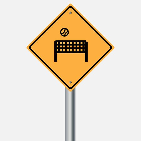 traffic pole: Traffic sign . Stadium Sports