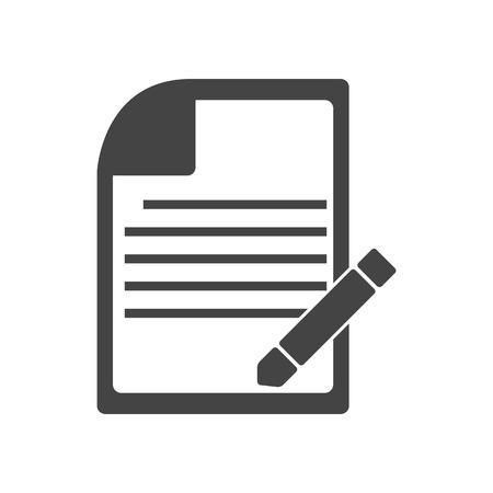 ノート アイコン デザインのベクトル  イラスト・ベクター素材