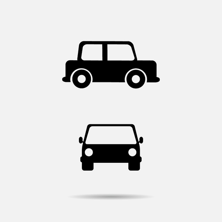 Car icon vector illustration Illustration