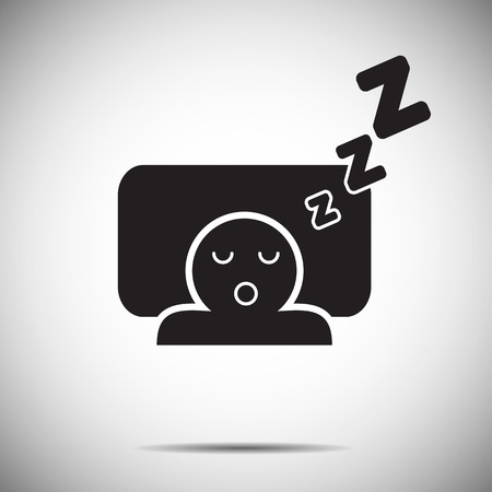 Slaap pictogram