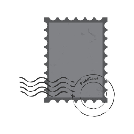 postmark: stamps  postmark ,  vintage postage  vector  illustration Illustration