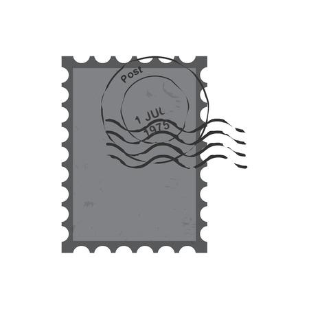 postmark: stamps  postmark ,  vintage postage stamps vector  illustration