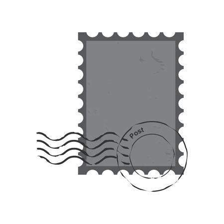 postmark: stamps  postmark ,  vintage postage stamps Illustration