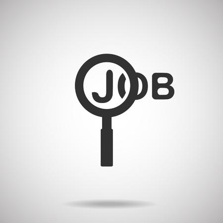ジョブ アイコン。検索ジョブ